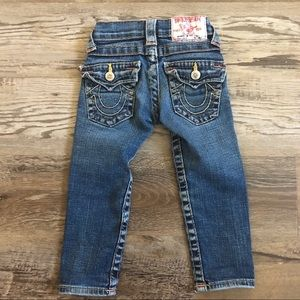 Toddler True Religion Jeans size 3